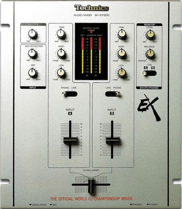 Technics SH-EX 1200 Battle Mixer