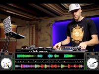 DJ Vajra on the Rane Sixty-One
