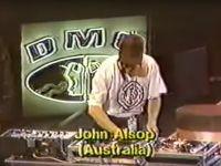 DJ John Alsop (AUS) – 1989 World DMC DJ Championship