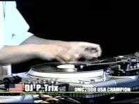 P-Trix @ Vestax 2000 World Finals